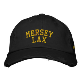 Heaton Mersey Lax Embroidered Hat