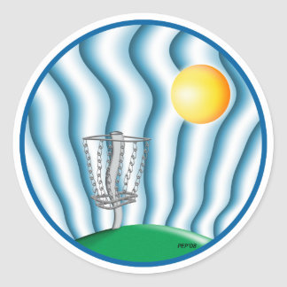 Heatwave Classic Round Sticker
