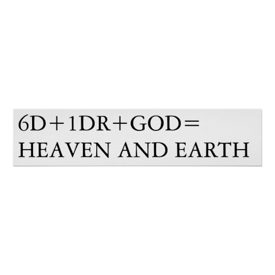 HEAVEN AND EARTH POSTER