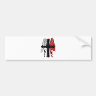 Heaven and Hell Bumper Sticker