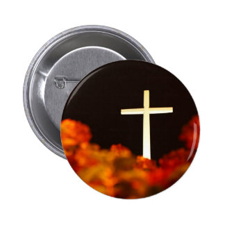 Heaven and Hell Pinback Button