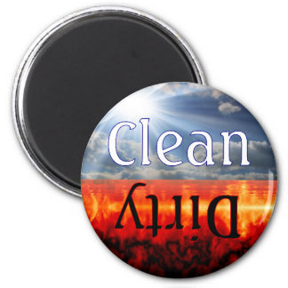 Heaven and Hell Clean Dirty Dishwasher Magnet