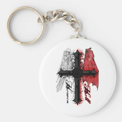 Heaven and Hell Key Chains