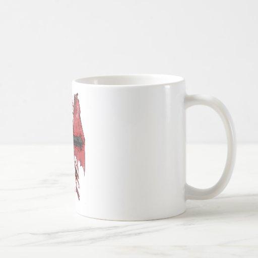 Heaven and Hell Coffee Mugs