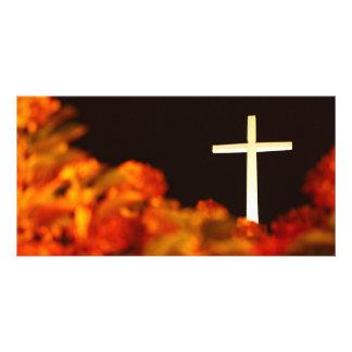 Heaven and Hell Custom Photo Card
