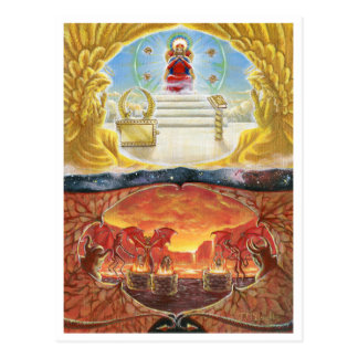 Heaven and Hell Postcard