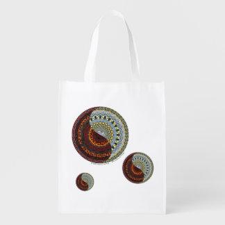Heaven and Hell Reusable Grocery Bag