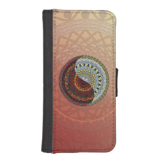 Heaven and Hell Smartphone Wallet Case Phone Wallet Case