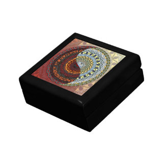Heaven and Hell Tile Box Jewelry Box
