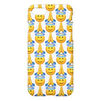 Heaven Emoji iPhone 7 Glossy Case