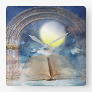 Heaven Fantasy Art Wall Clock