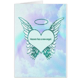 Heaven has a New Angel Card