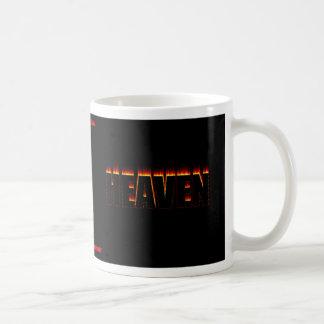 Heaven & Hell Classic White Coffee Mug