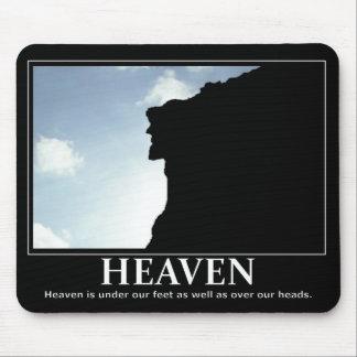 Heaven inspire motivation Mousepad