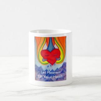 Heaven lift your Heart mug