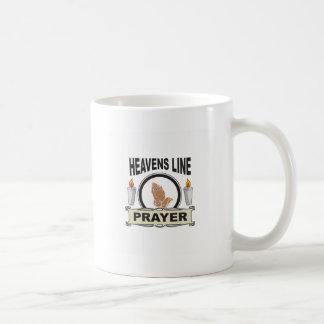 heaven line coffee mug