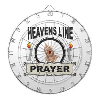 heaven line dartboard