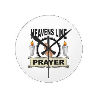 heaven line round clock