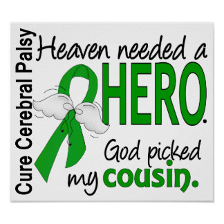 Heaven Needed a Hero CP Cousin Poster