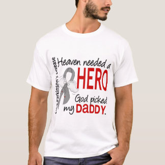 Heaven Needed a Hero Daddy Parkinson's T-Shirt