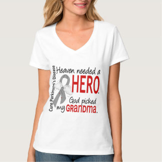 Heaven Needed a Hero Grandma Parkinson's T-Shirt