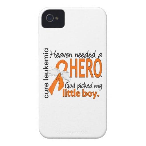 Heaven Needed a Hero Little Boy Leukemia iPhone 4 Case-Mate Cases
