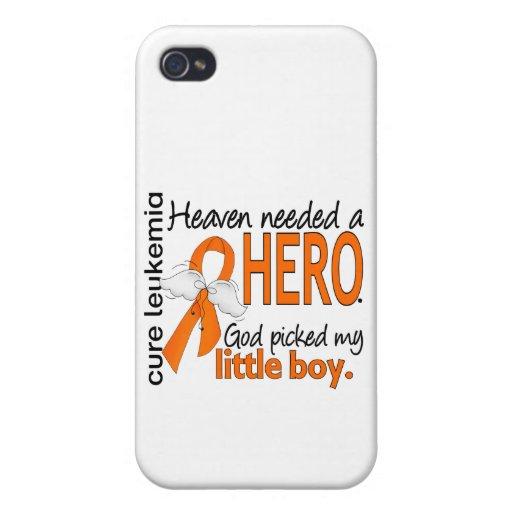 Heaven Needed a Hero Little Boy Leukemia iPhone 4/4S Covers