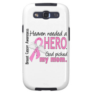 Heaven Needed A Hero Mom Breast Cancer Galaxy S3 Case