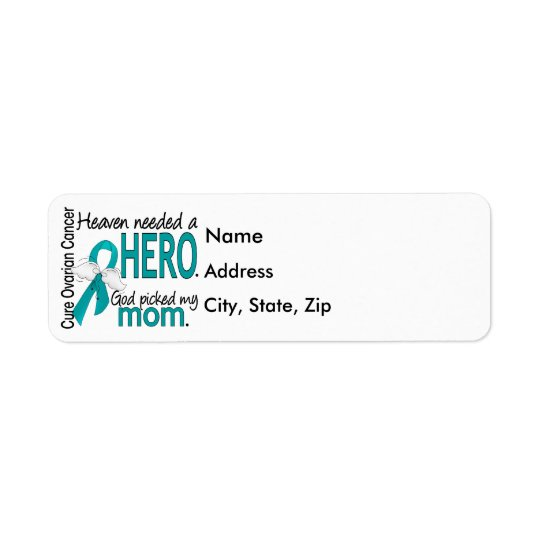 Heaven Needed a Hero Mom Ovarian Cancer