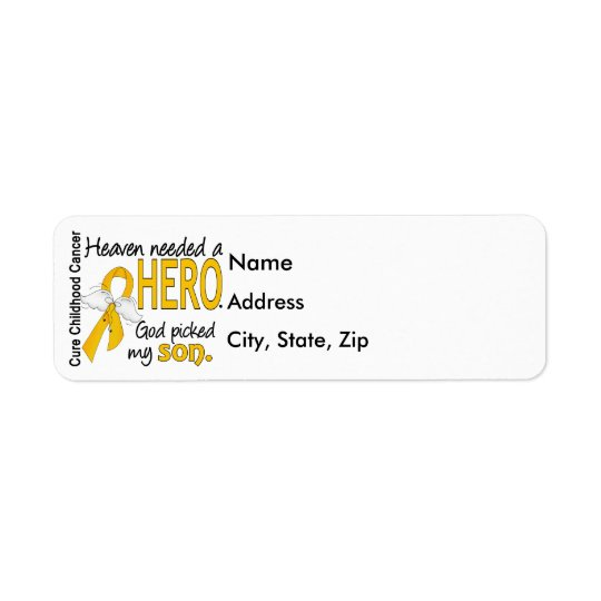 Heaven Needed Hero Son Childhood Cancer