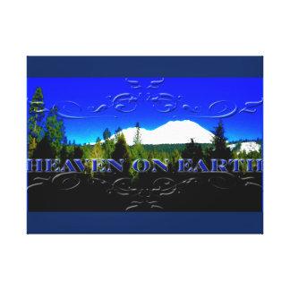 Heaven on Earth | money mountain Canvas Print