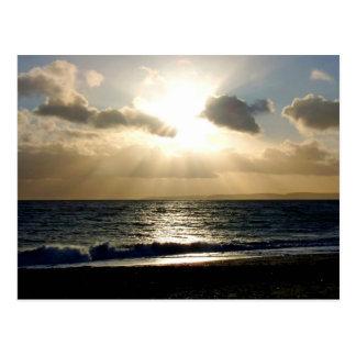 Heaven on earth postcard