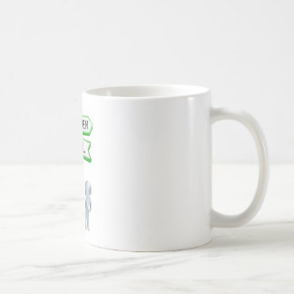 Heaven or hell concept mugs
