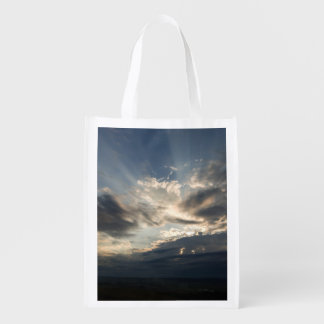 HEAVEN RAYS REUSABLE GROCERY BAGS