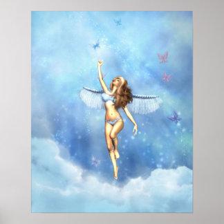 Heaven Sent Angel Poster