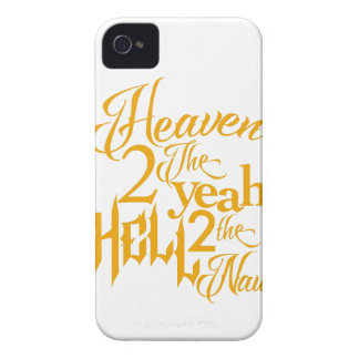 Heaven to the Yeah iPhone 4 Case-Mate Case