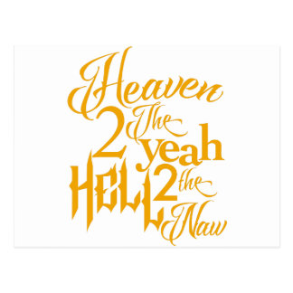 Heaven to the Yeah Postcard