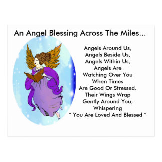 Heavenly Angel Postcard