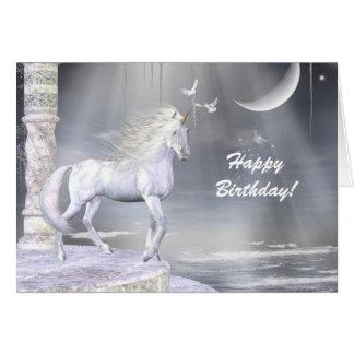 Heavenly Angel Unicorn Scene Cards