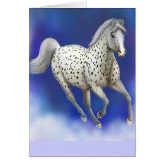 Heavenly Appaloosa Horse Greeting Cards