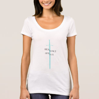 HEAVENLY ARMOUR Turquoise Sword T-Shirt