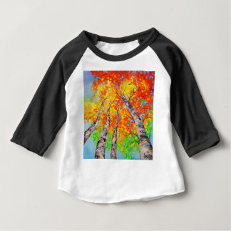 Heavenly birch baby T-Shirt
