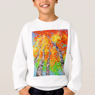 Heavenly birch sweatshirt
