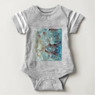 Heavenly Blue Quartz Crystal Baby Bodysuit