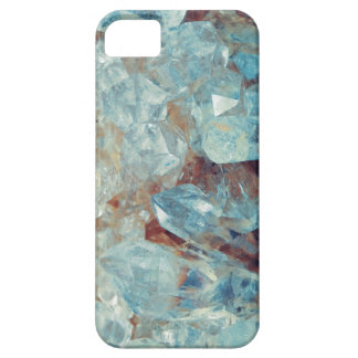 Heavenly Blue Quartz Crystal iPhone 5 Covers