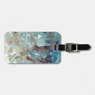 Heavenly Blue Quartz Crystal Luggage Tag