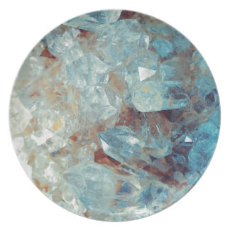 Heavenly Blue Quartz Crystal Plate