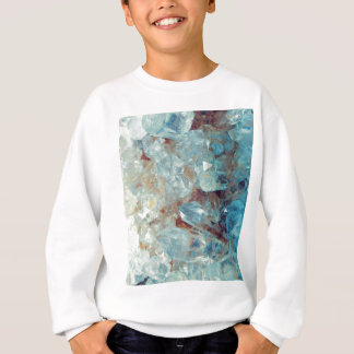 Heavenly Blue Quartz Crystal Sweatshirt