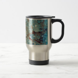 Heavenly Blue Quartz Crystal Travel Mug