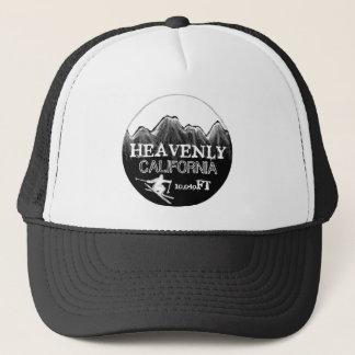 Heavenly California black white elevation ski hat